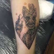 Groot Tattoo 7