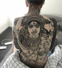 Kali Tattoo 10