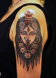 Kali Tattoo 46