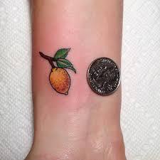 Lemon Tattoo 2