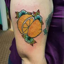 Lemon Tattoo 22