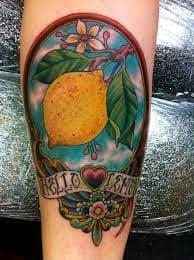 Lemon Tattoo 23