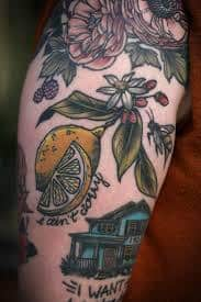Lemon Tattoo 32