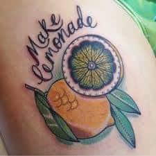 Lemon Tattoo 40