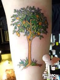 Lemon Tattoo 45