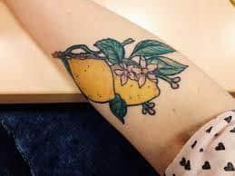 Lemon Tattoo 51