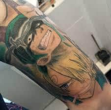 Luffy Tattoo 31