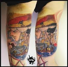 Luffy Tattoo 35
