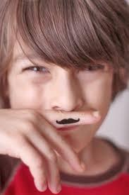 Mustache Tattoo 13