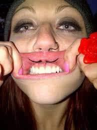 Mustache Tattoo 18