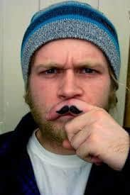 Mustache Tattoo 36