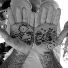 Palm Tattoo 10