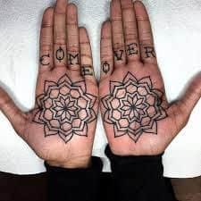 Palm Tattoo 11