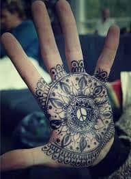 Palm Tattoo 12