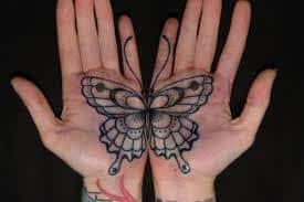 Palm Tattoo 14