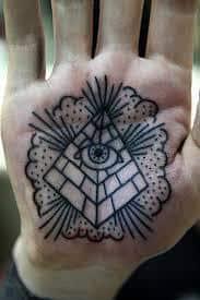Palm Tattoo 18
