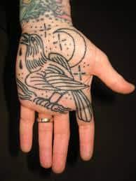 Palm Tattoo 25