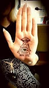 Palm Tattoo 27