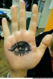 Palm Tattoo 28