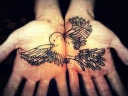Palm Tattoo 34