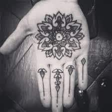 Palm Tattoo 43