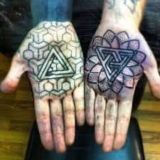 Palm Tattoo 60