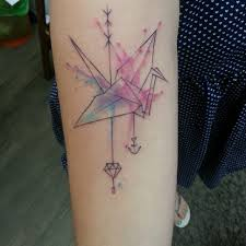 What Does Paper Crane Tattoo Mean 45 Ideas And Designs