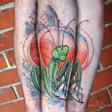 Praying Mantis Tattoo 32