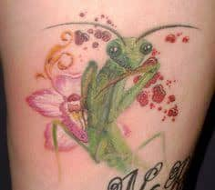 Praying Mantis Tattoo 34