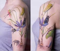 Praying Mantis Tattoo 40