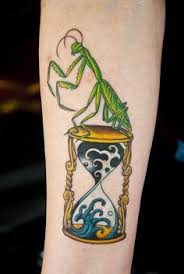 Praying Mantis Tattoo 5