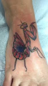 Praying Mantis Tattoo 52