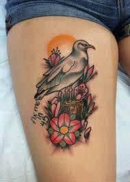 Seagull Tattoo 15