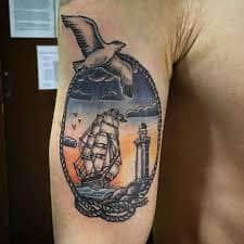 Seagull Tattoo 25