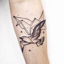 Seagull Tattoo 5