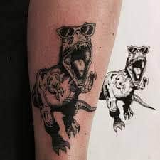 T Rex Tattoo 17
