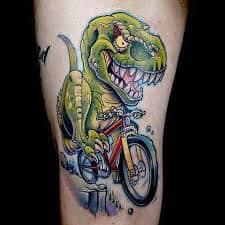 T Rex Tattoo 22