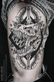 T Rex Tattoo 31