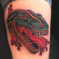 T Rex Tattoo 33