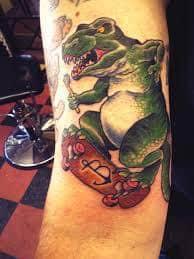 T Rex Tattoo 39