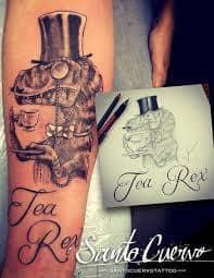 T Rex Tattoo 50