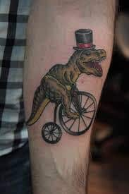 T Rex Tattoo 6