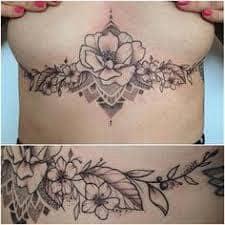 Underboob Tattoo 20