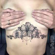 Underboob Tattoo 29