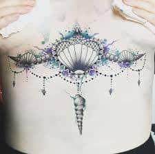 Underboob Tattoo 35