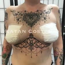 Underboob Tattoo 41