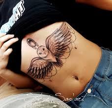 Underboob Tattoo 44