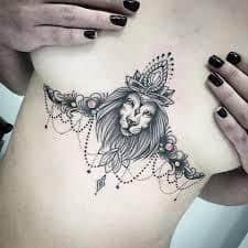 Underboob Tattoo 50