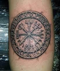 What Does Vegvisir Tattoo Mean? | 45+ Ideas and Designs