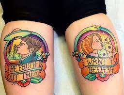 X Files Tattoo 1